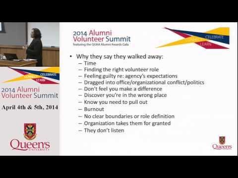 AVS 2014 - Succession Planning, Volunteer Recruitment & Development