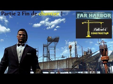 Fallout 4 -  Far Harbor - Construction Base Longfellow Full Power ! Partie 2 #20