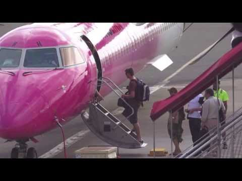 Qantaslink Q400 Sydney to Canberra