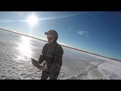 Ice Fishing Eagle Lake