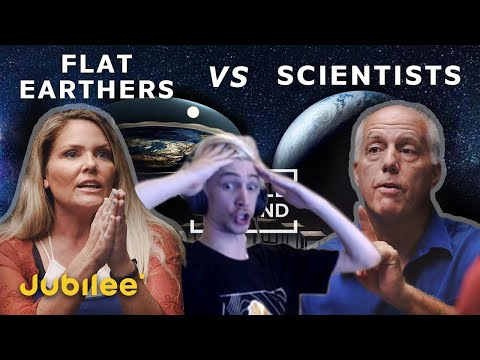 xQc Reacts to Flat Earthers vs Scientists: Can We Trust Science? | Jubilee thumbnail