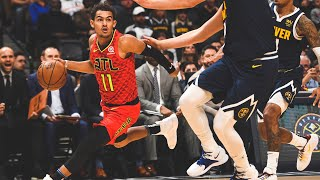 Trae Young Stared Down Denver Nuggets Bench After Ridiculous Nutmeg Move