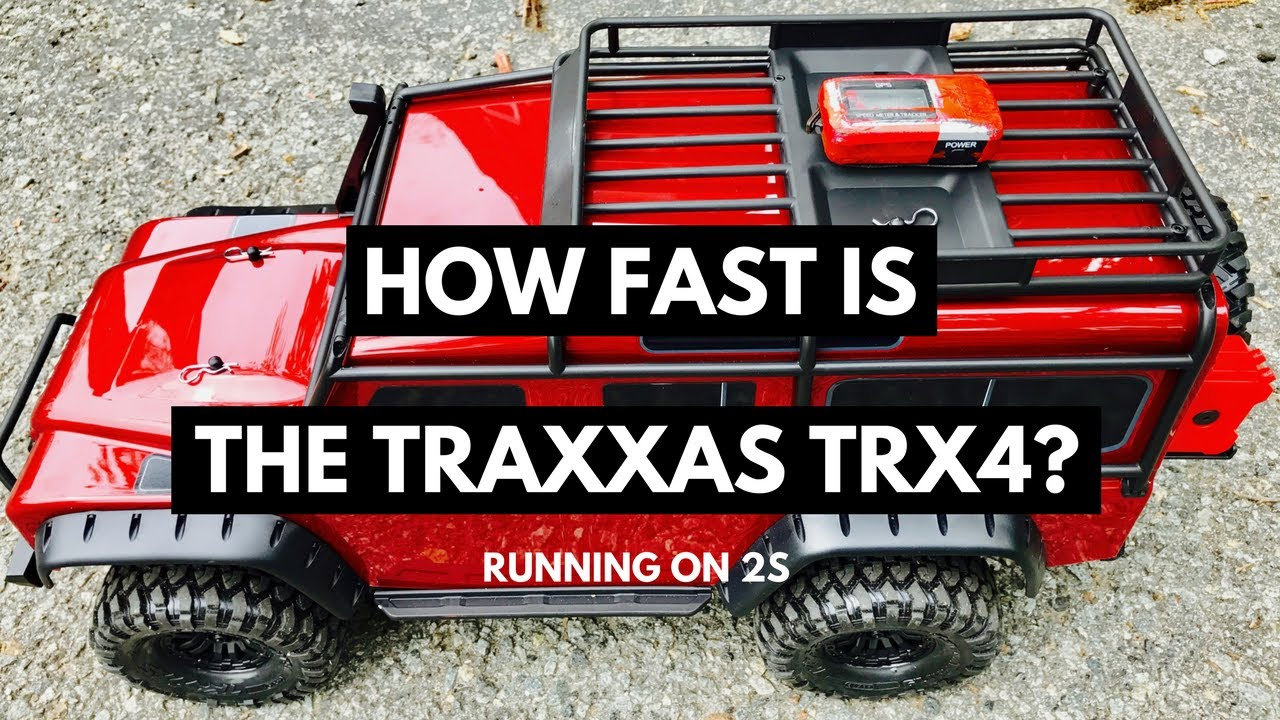 How Fast Is The Traxxas Trx4 Rock Crawler 2s Top Speed