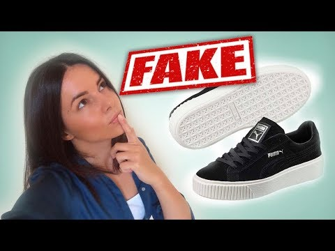 Как отличить кроссовки пума оригинал от подделки