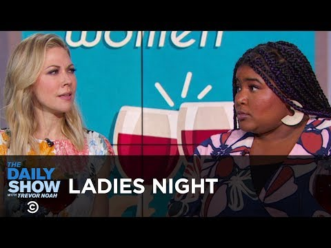 Ladies Night - Oprah, The Women's March & Miss Texas | The Daily Show thumbnail
