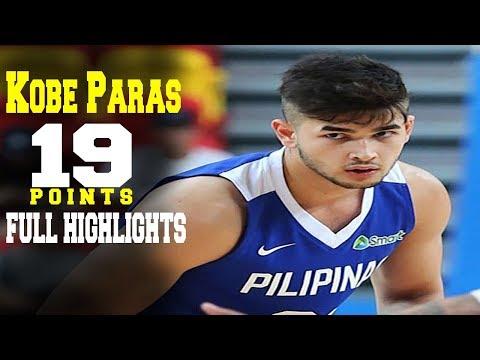 Kobe Paras' Game Highlights vs La Salle (VIDEO) 2018 FilOil Preseason Cup