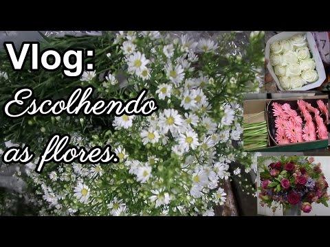 Vlog: Escolhendo Flores do casamento :)
