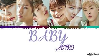 Astro – Baby Lyrics  Color Coded_han_rom_eng