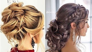 12 Romantic Prom & Wedding Hairstyles 😍 Professional Hair Ideas 2019