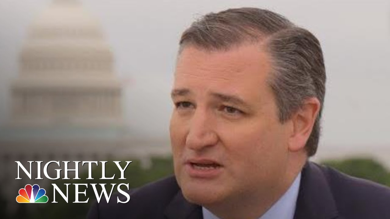 Extended Interview: Ted Cruz & Lester Holt   NBC Nightly News