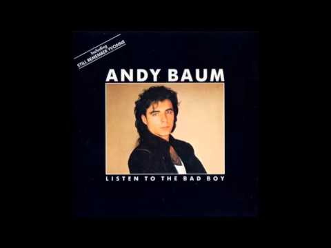 """andy baum """"talk to me"""" listen to the bad boy-1987"""