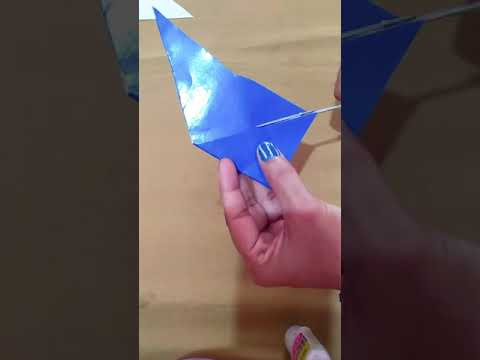 how to make paper Bow/Ribbon easy simple origami.perfect bow/ribbons beginners.gift wrapping idea