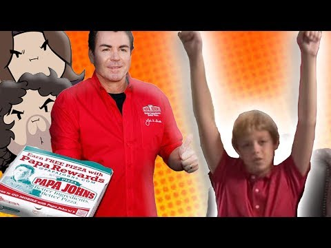 Game Grumps: Papa John's Pizza Commercial