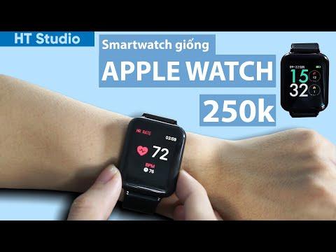 Smartwatch B57 Giống Apple Watch Giá Rẻ 250K, Pin 1 Tuần Cực Ngon ?