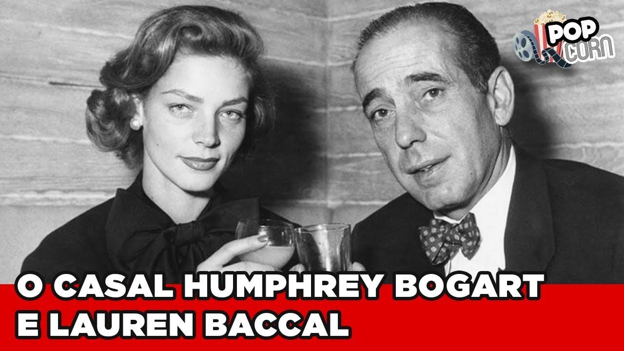 Relembre o sucesso do casal Humphrey Bogart e Lauren Baccal #PopCorn @PopZoneTV