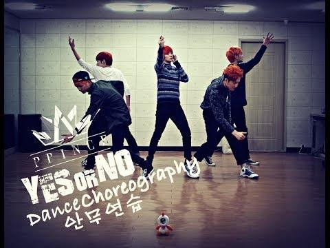 에이프린스 A-PRINCE - YES or NO Dance Practice 안무 연습