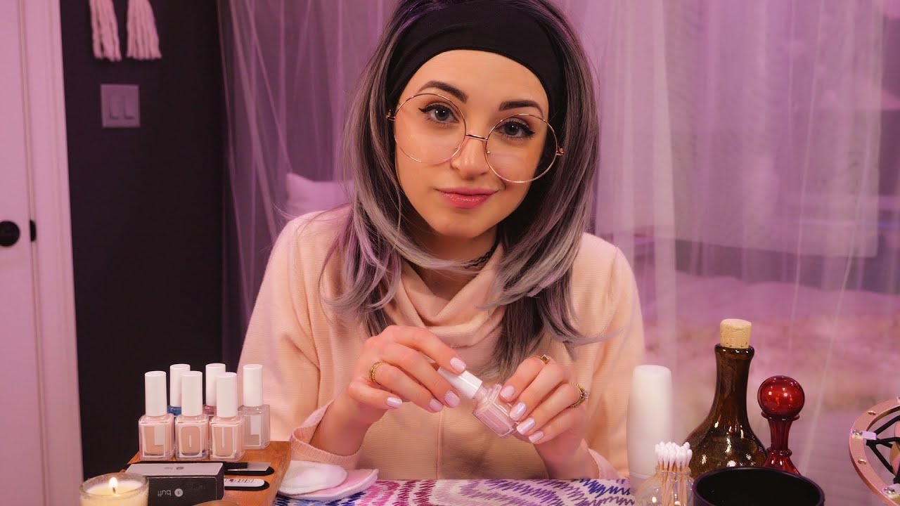 ASMR | Sybil Gives You a Soothing Manicure