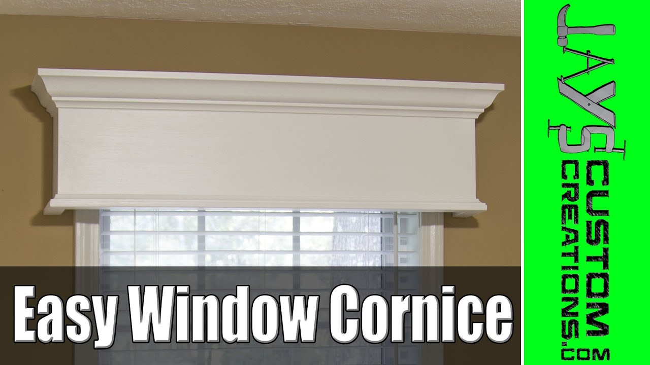 Easy Diy Window Cornice 177 You