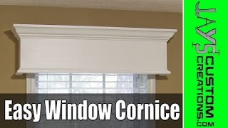 Easy Diy Window Cornice - 177
