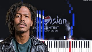 Jeangu Macrooy - Grow (Eurovision 2020 Netherlands)   Piano Instrumental Cover