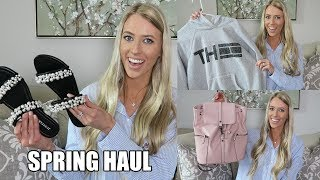 Huge Spring/Summer Haul! | Clothing, Shoes, Bags, Makeup + More | Erica Lee