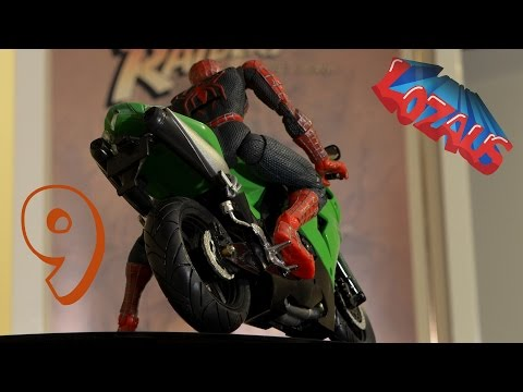 Thumbnail: SPIDERMAN STOP MOTION Action Video Part 9