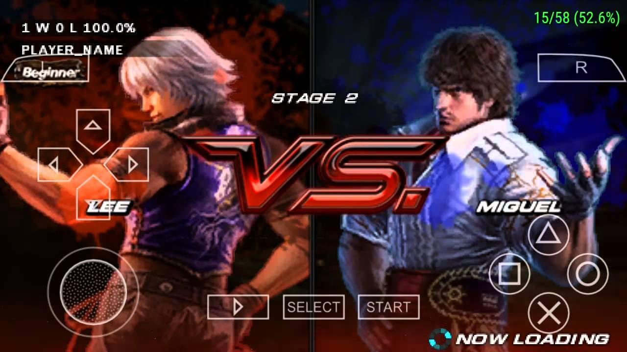 Tekken 3 Psp Android