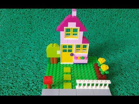 LEGO Classic  - Pembe Ev Yapımı - 4-99 yaş