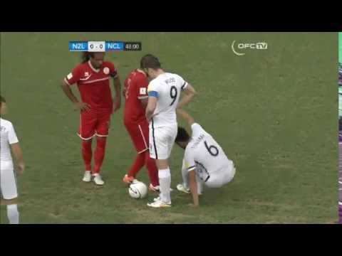 New Zealand vs New Caledonia 1-0 All Goals & Highlights 08.06.2016 ( OFC Nations Cup )