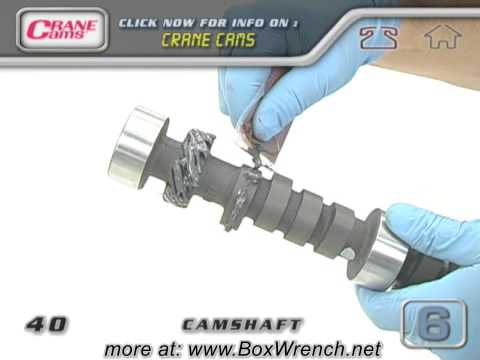 Camshaft Installation Video - Engine Building Car Repair DVD