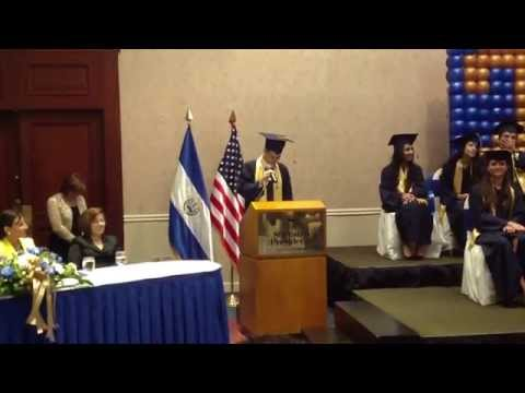 ICS El Salvador Student's Speech Class 2014