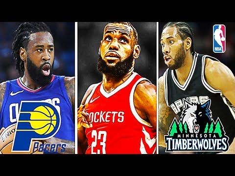 8 NBA Trades + 8 NBA Signings + 8 NBA Retirements that will Happen This Off Season