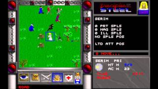 Disciples of Steel (MS-DOS) Intro und Gameplay