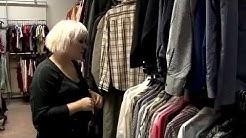 Diy by Kontti: Tuunaa miesten kauluspaidasta naisten paitapusero