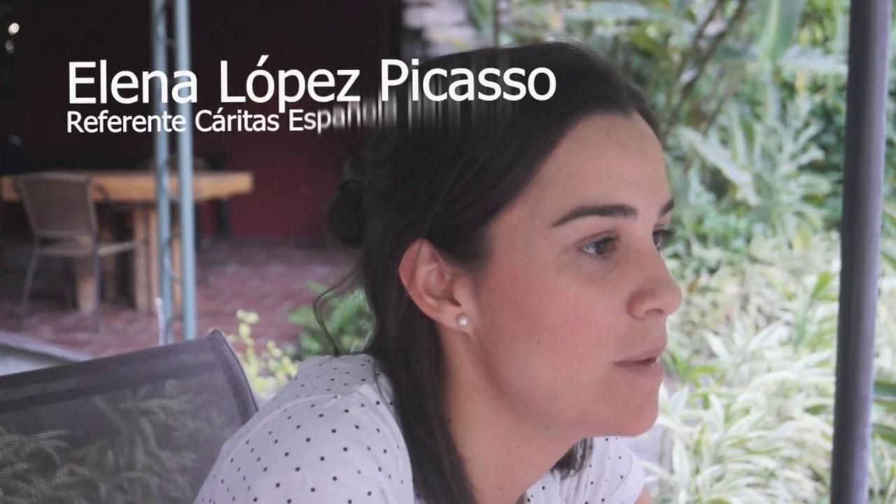 Visita Cáritas Española Noviembre 2017