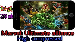 [250 mb] How to download marvel avengers alliance high compressed for android