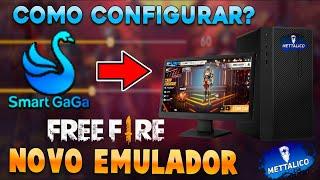 COMO CONFIGURAR EMULADOR SMART GAGA (FREE FIRE PC)