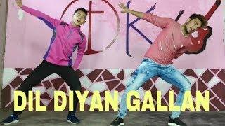 Dil Diyan Gallan Dance Choreography || Lyrical |l Tiger Zinda Hai || STYLE DKX ||