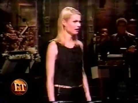 (1999) Entertainment Tonight - Gwyneth Paltrow on Snl
