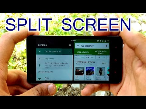 [HINDI] - HOW TO SPLIT ANDROID SCREEN multitask in BETTER WAY....