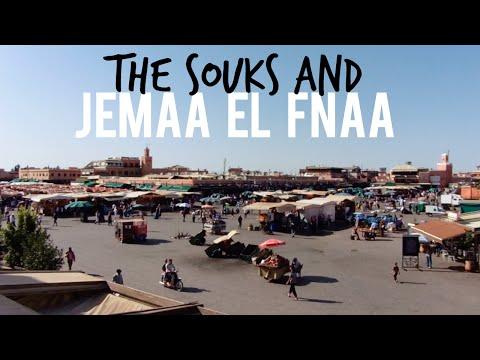 THE SOUKS + JEMAA EL-FNAA   Marrakech, Morocco