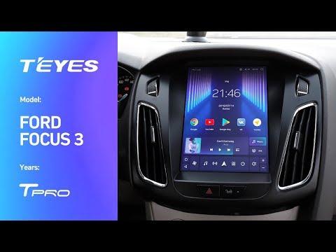 Мультимедийная система с вертикальным расположением экрана !Для автомобиля Ford Focus!