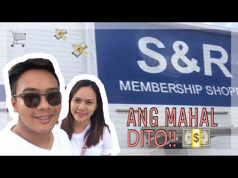 Mura lng ba sa  S&R Membership Shopping? || PHILIPPINES