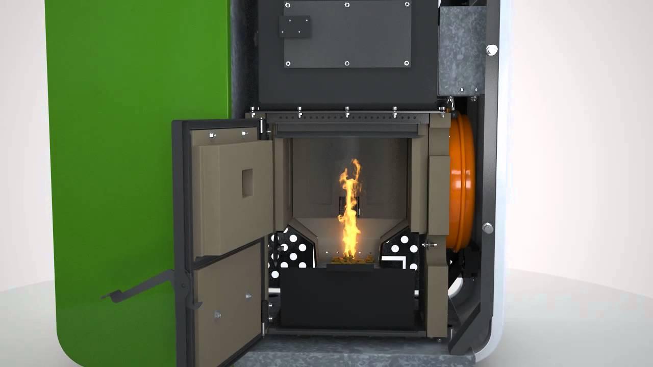 Caldera de pellets ecoforest modelo cantina nova youtube - Caldera de pellets ...
