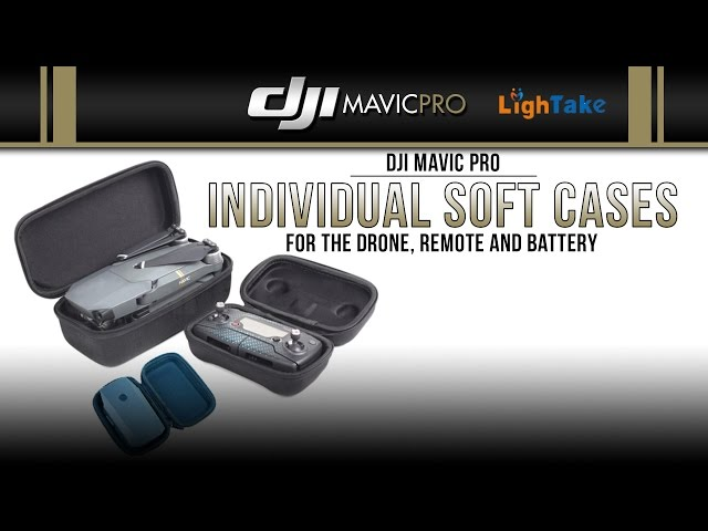 DJI Mavic Pro / Individual Soft Cases (Showcase)