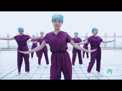 Creative hand hygiene dance in China