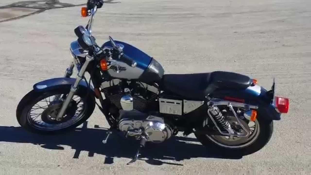 Harley Davidson Sportster 1200 >> 1999 Harley Davidson Sportster 1200 - YouTube