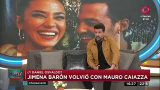 Jimena Barón volvió con Mauro Caiazza después del escándalo con Osvaldo