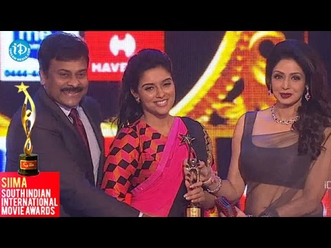Youth Icon of South Indian Cinema SIIMA Female || Asin