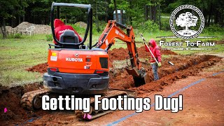 Getting Our Footings Dug!